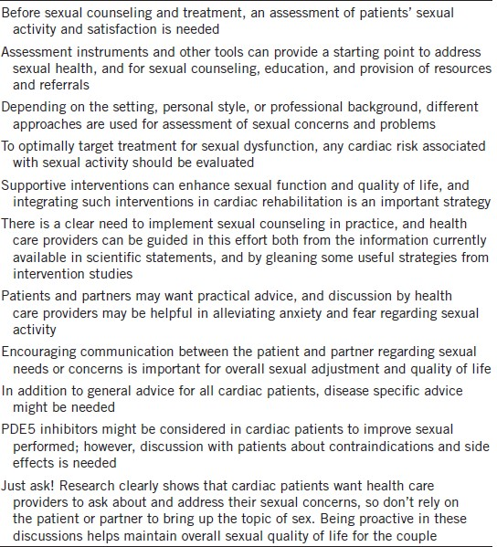 Sexuality nursing needs assessment tools